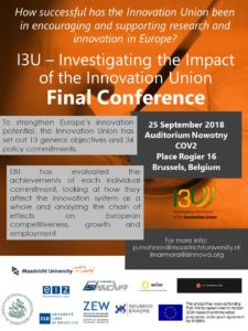 I3U Final Conference Save the Date