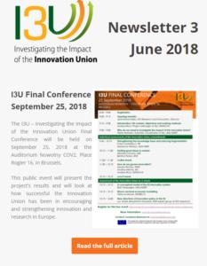 I3U Newsletter 3