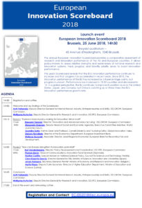 European Innovation Scoreboard launch event agenda