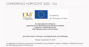 The Innovation Union in Europe: Accomplishments and Challenges conference