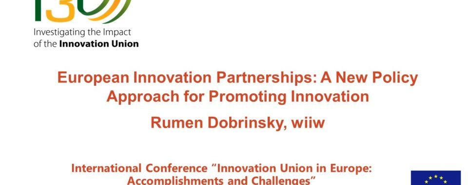 Warsaw conference presentation - Rumen Dobrinsky