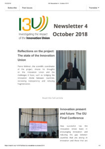 I3U Newsletter 4 - October 2018-1